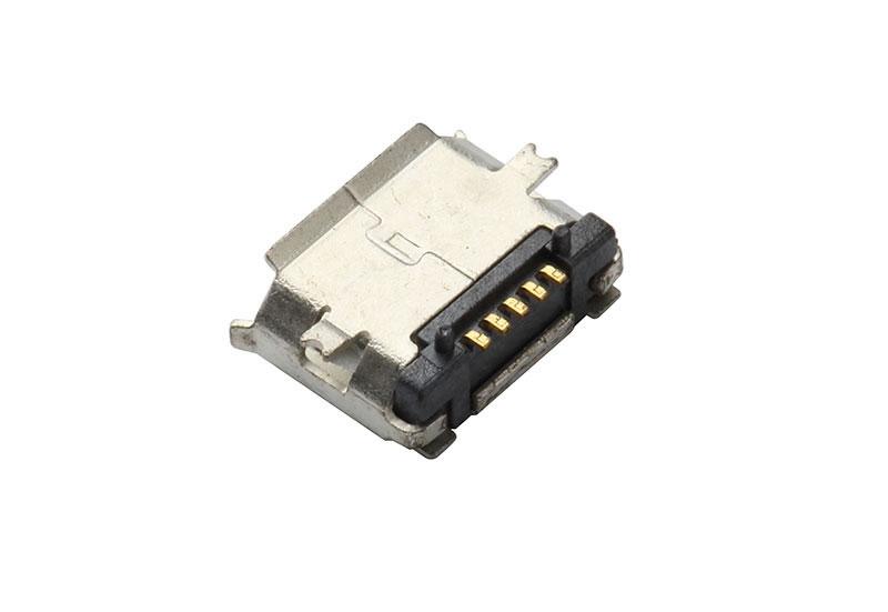USB-MICRO-5P-SMT-带柱-P
