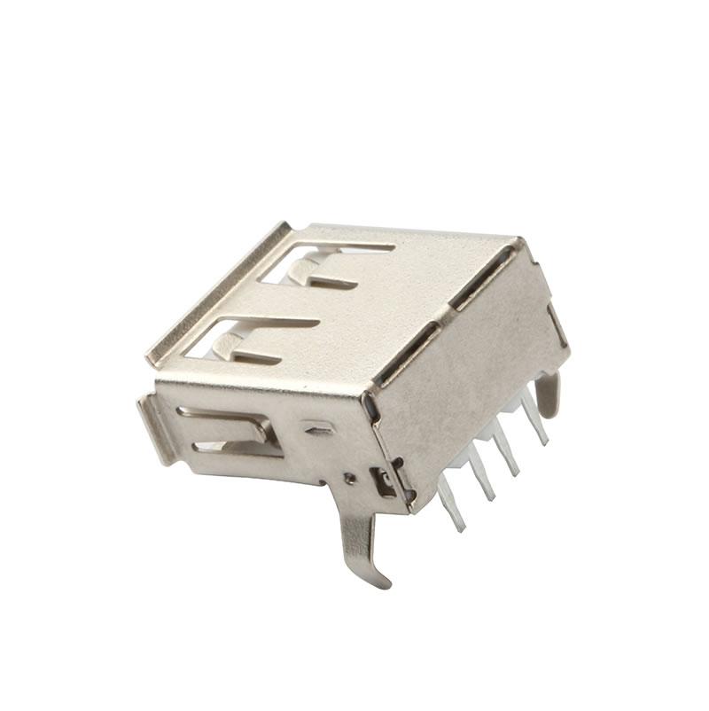 USB-AF-90-DIP-FE-W-弯脚-内扣-1